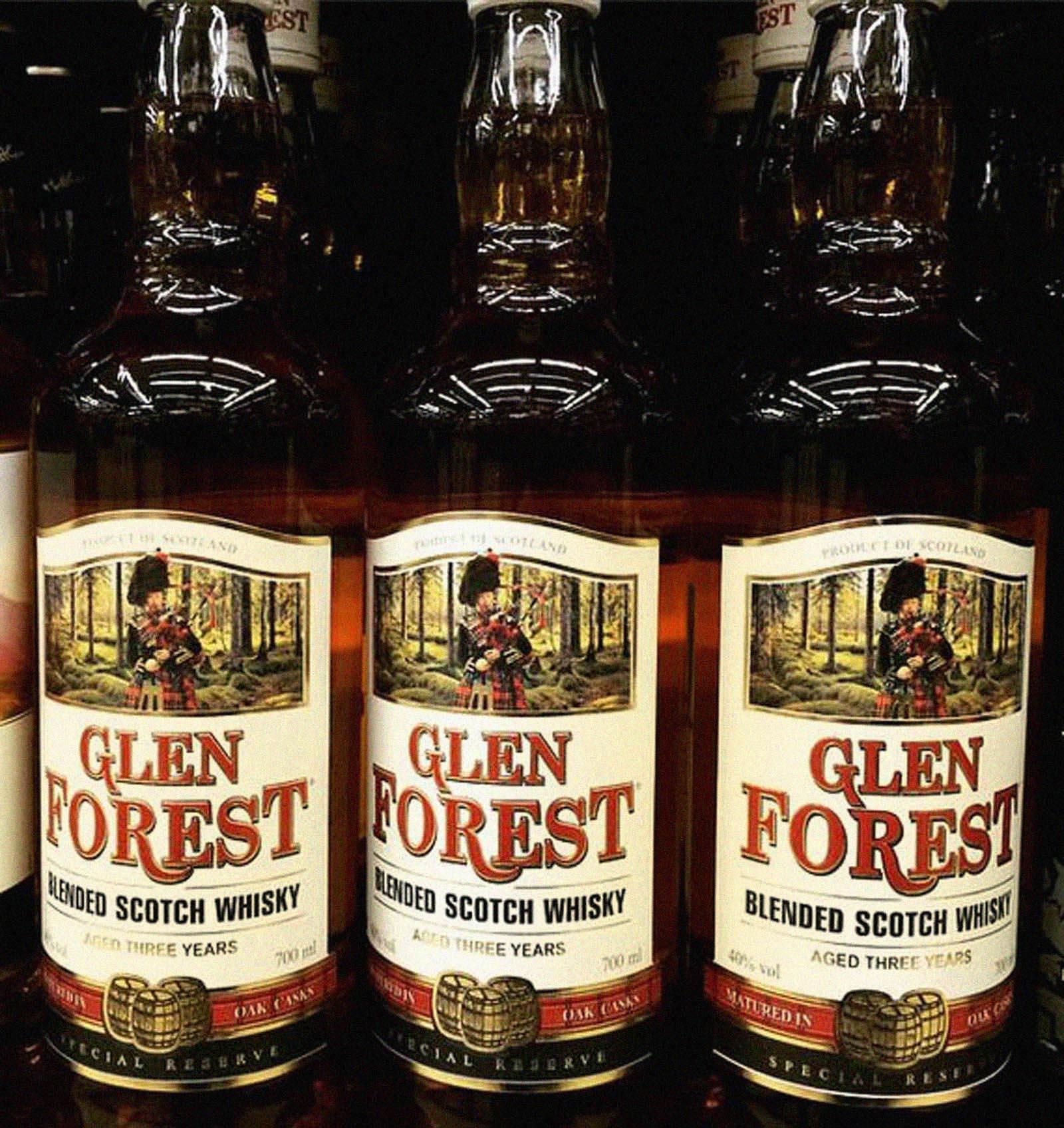 Glen Forest. Разработка дизайна на заказ для виски