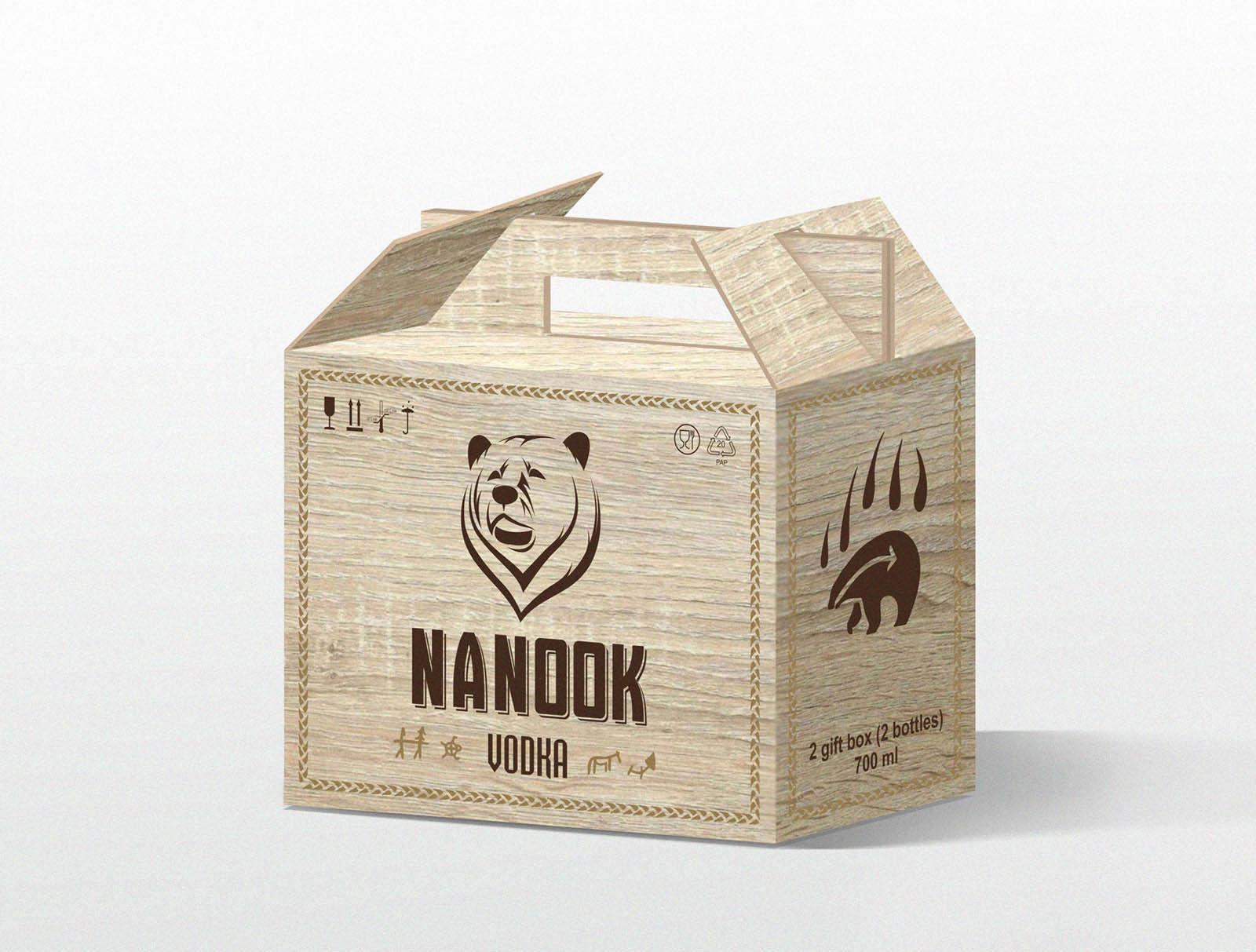 Нанук . Разработка дизайна упаковки, коробки