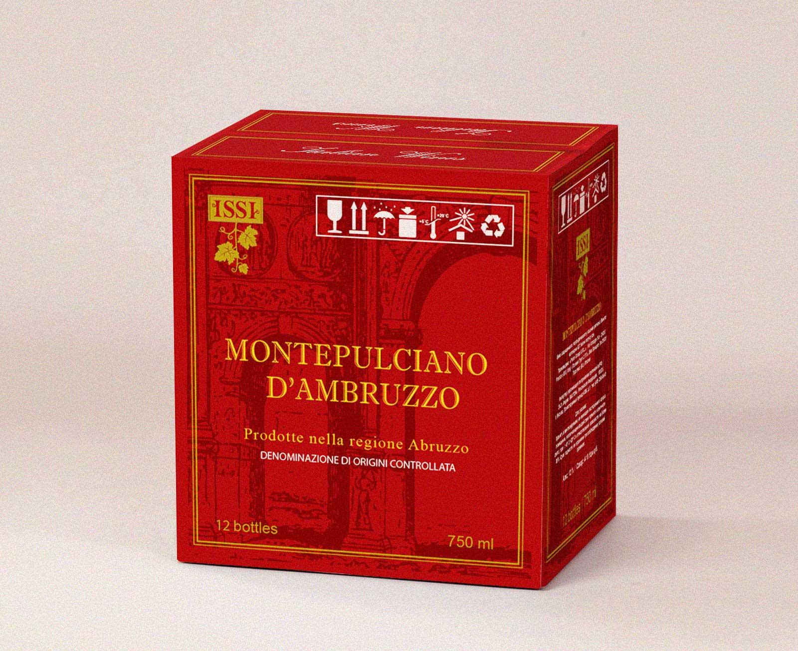 Коробка для вина montepulciano